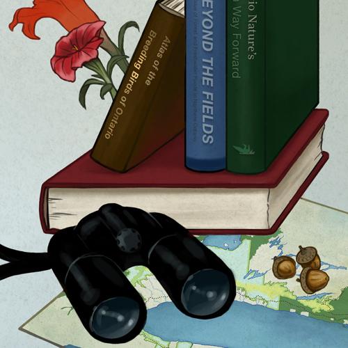 Detail of ON Nature illustration