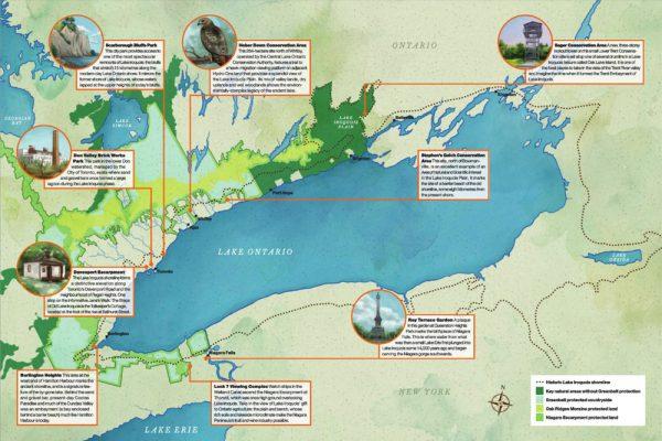 Iroquois Shore Map
