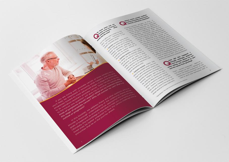 Patient brochure mock up